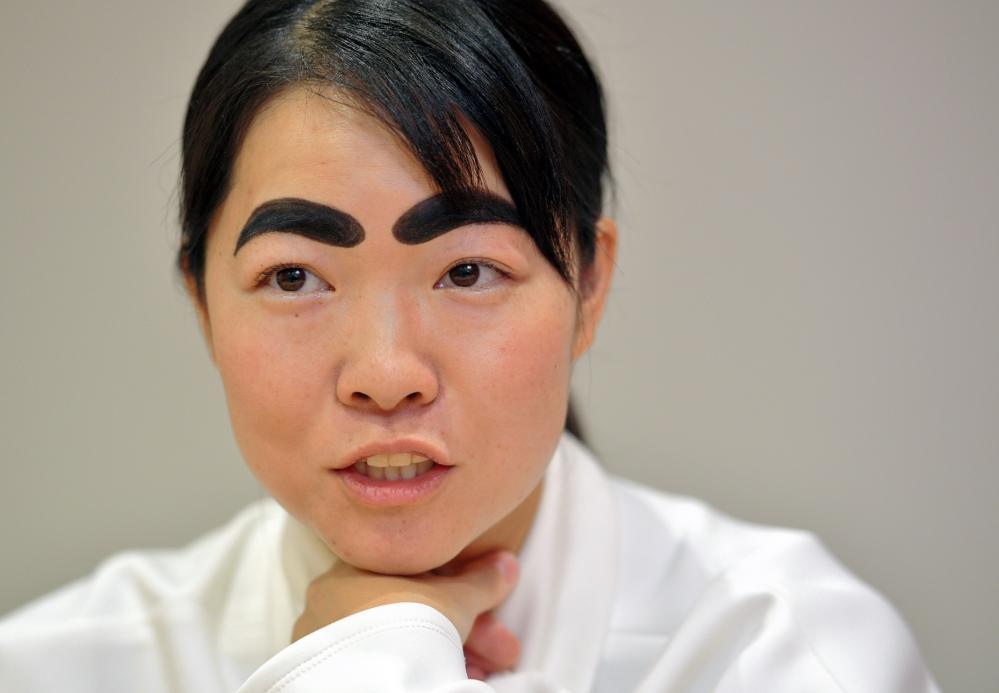 【お手本】この人のこの眉毛に憧れる‼︎