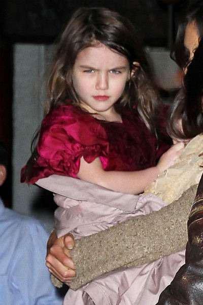 トム・クルーズ&ケイティ・ホームズの愛娘スリちゃんが12歳に