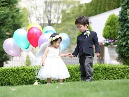 子連れで結婚式参加、普通?