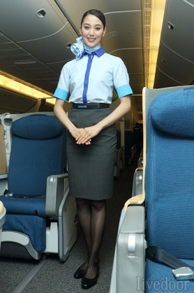 Airline hostess with nice tits - 1 8