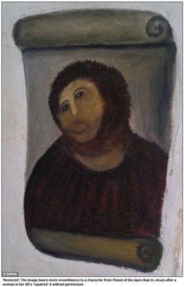 「下手すぎる」と世界が笑ったロナウド彫刻家、1年後に再挑戦