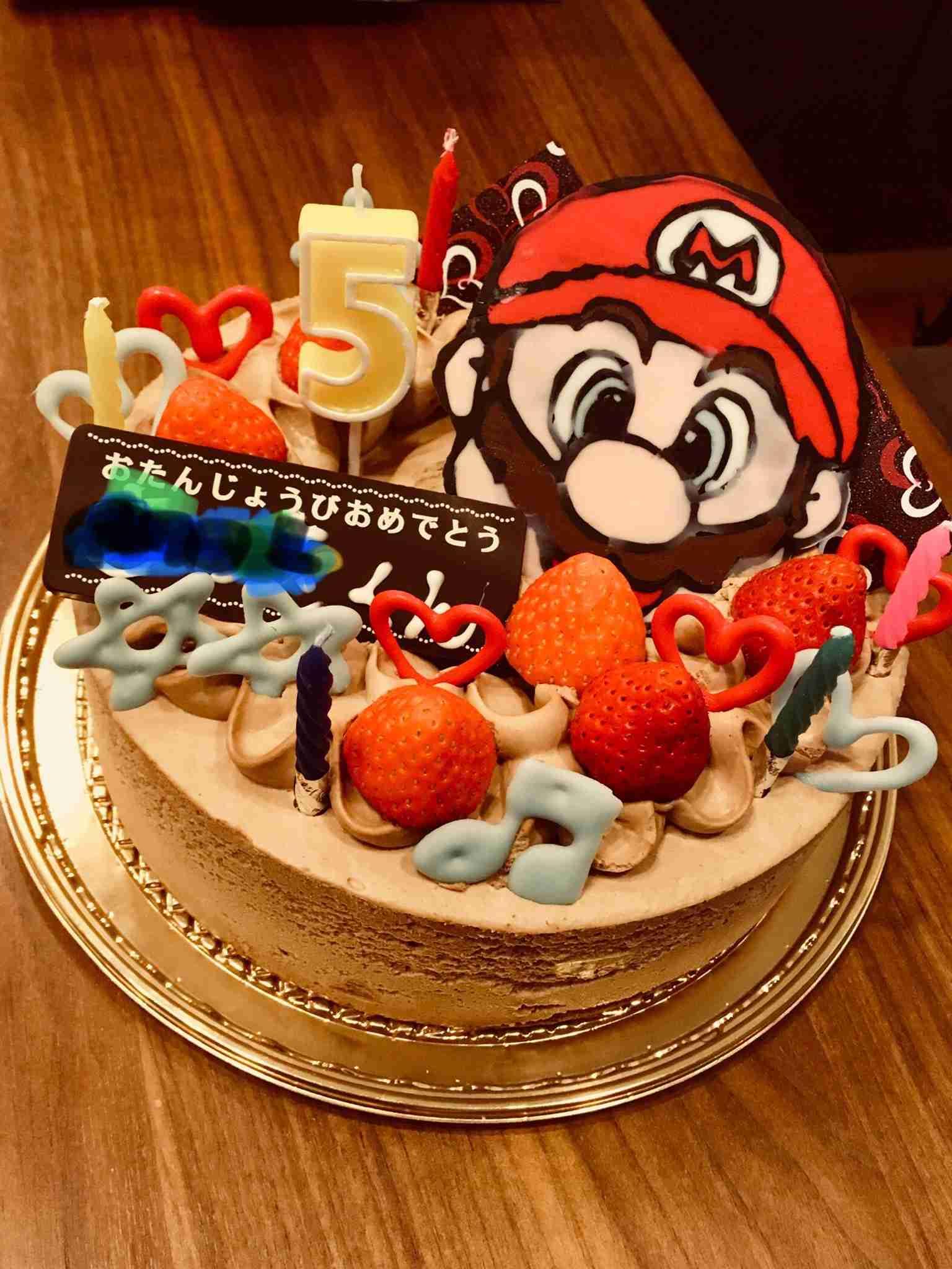 子供のバースデーケーキ