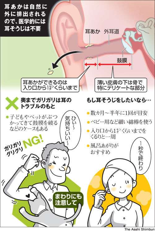 怖い!耳の中にカビが生える 原因は「耳掃除のやりすぎ」