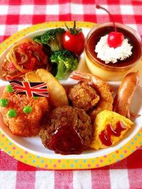 運動会の日の夕食
