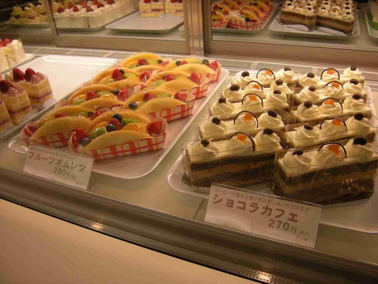 ケーキひとつの値段いくらまで出せますか?