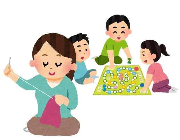子供の友達が遊びに来てる時何してますか?