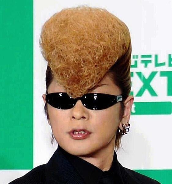 ちょっと髪型補正かな~と思う有名人