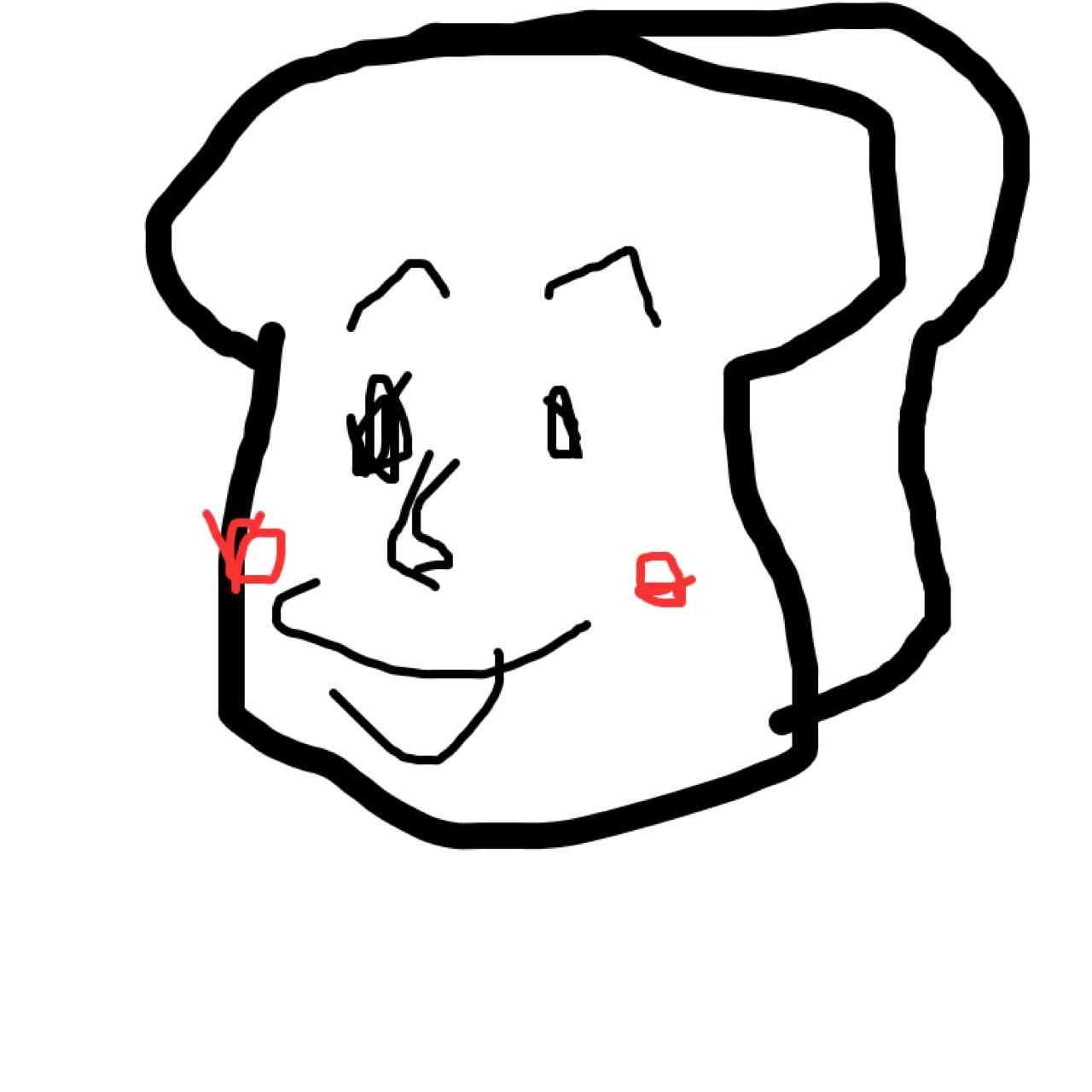 【お絵かき】利き手じゃない方の手で絵を描くトピ