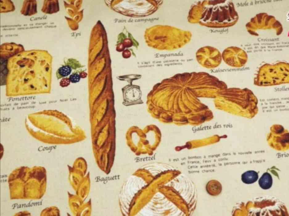 パン柄、パンモチーフの雑貨が好きな人!