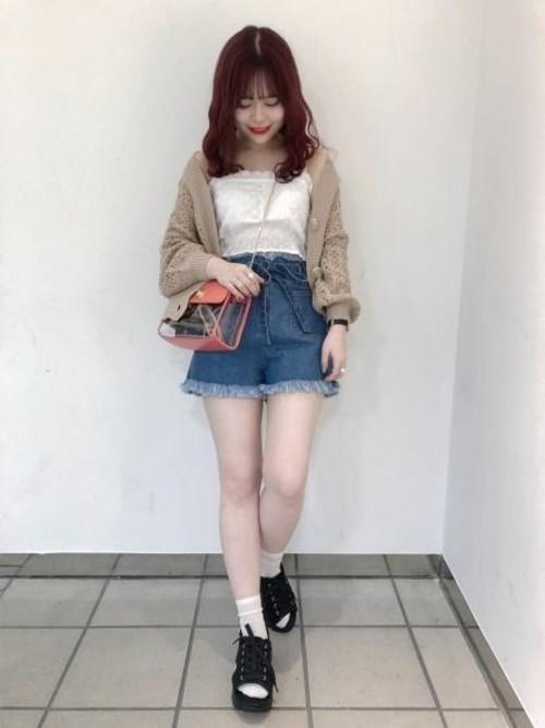 足が短い人のファッション