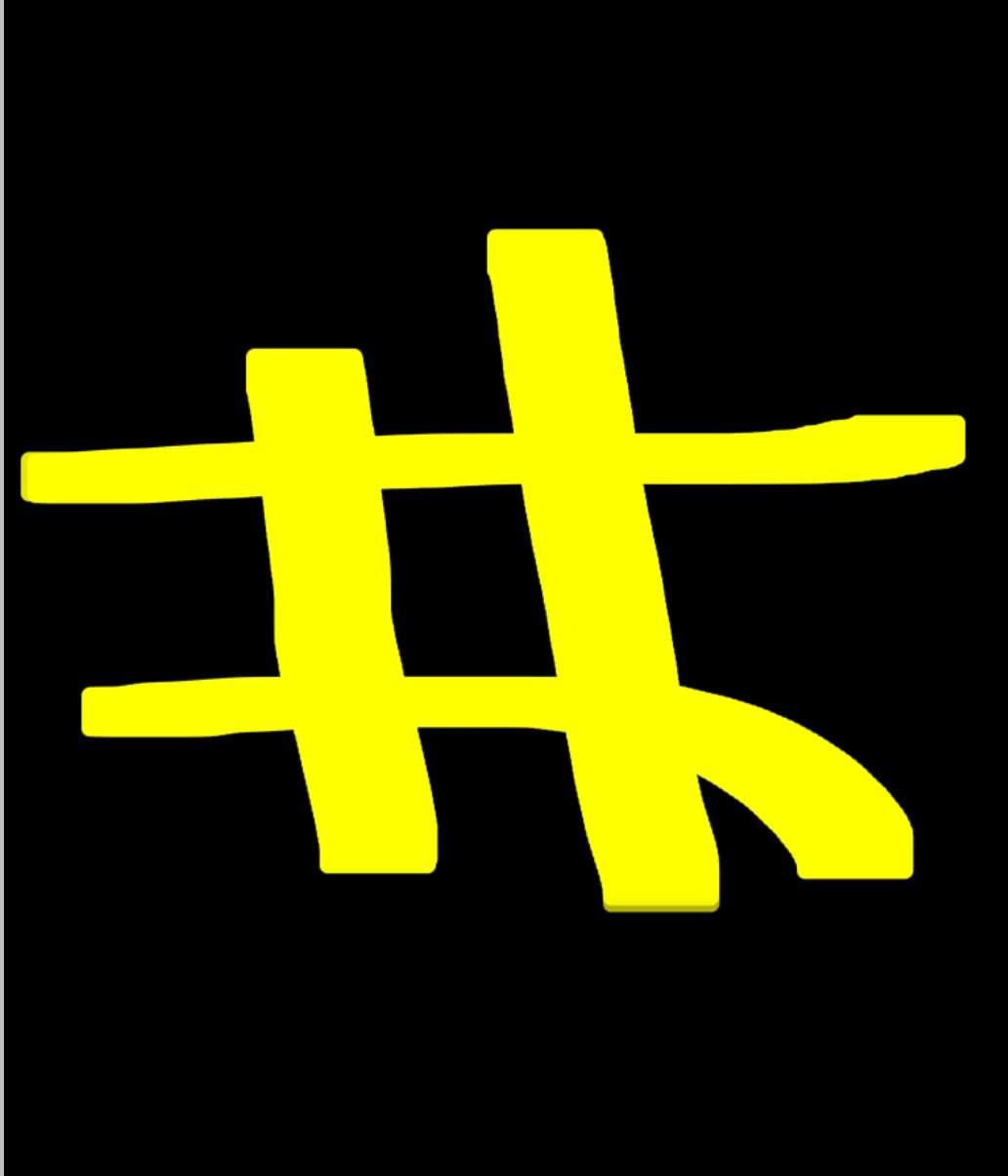 【ネタトピ】SNSでよくみるハッシュタグの#をわざと井にするトピ