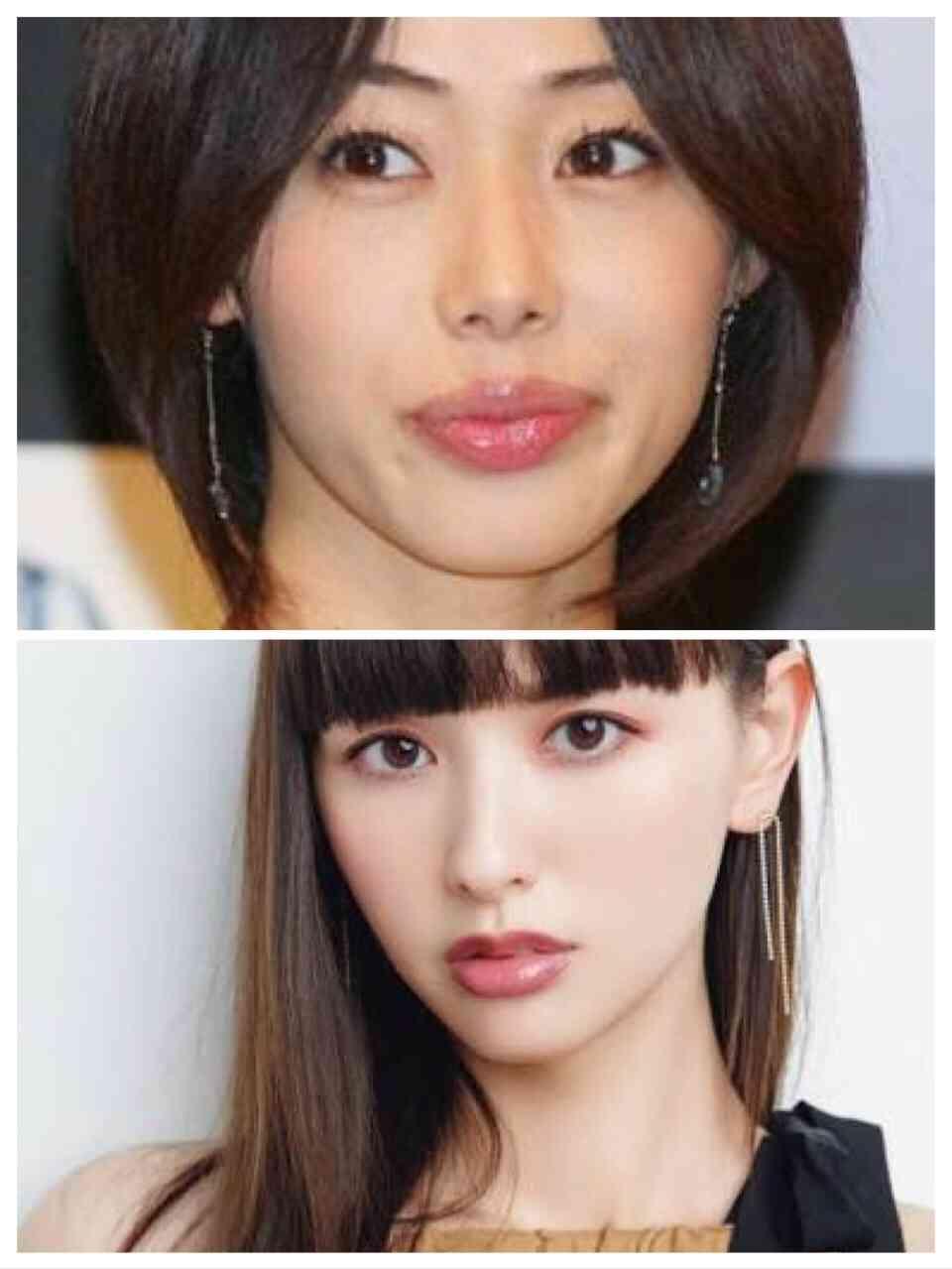 同じ系統の顔の芸能人