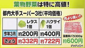 野菜の値段!報告トピ