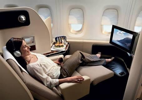 【飛行機】ビジネスorファーストクラス乗ったことある方【奮発】