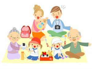 子供の運動会に遠くに住む祖父母を呼びますか?
