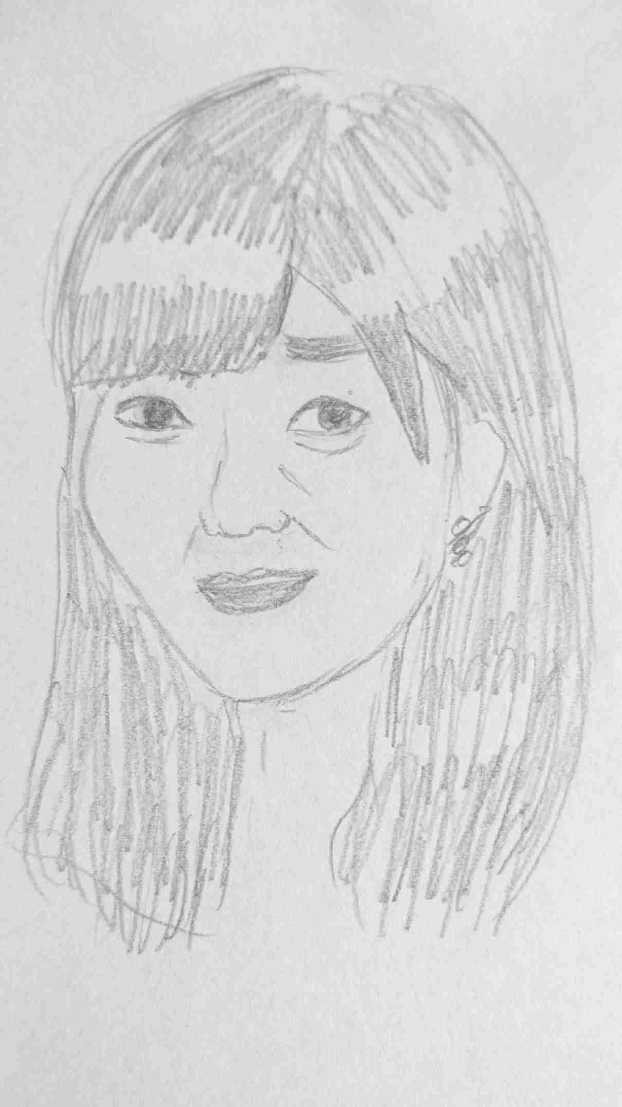 芸能人の似顔絵を描いて誰かを当ててもらうトピ