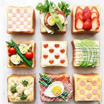 食パンのアレンジレシピ