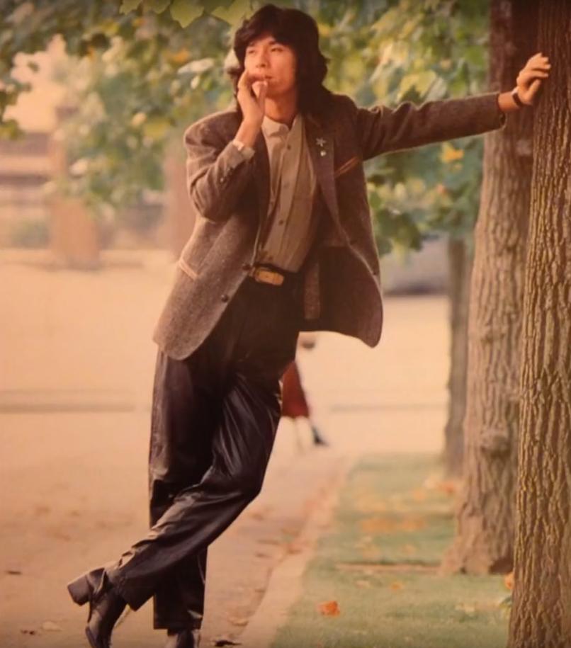 煙草をくわえた若い頃・昔の西城秀樹