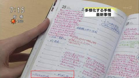 日記をつけている人!