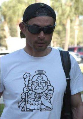 イチローのTシャツ画像をあげるトピ