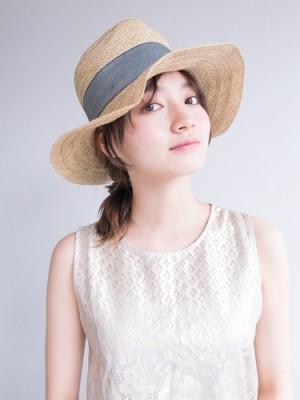 帽子をかぶる時のヘアスタイル