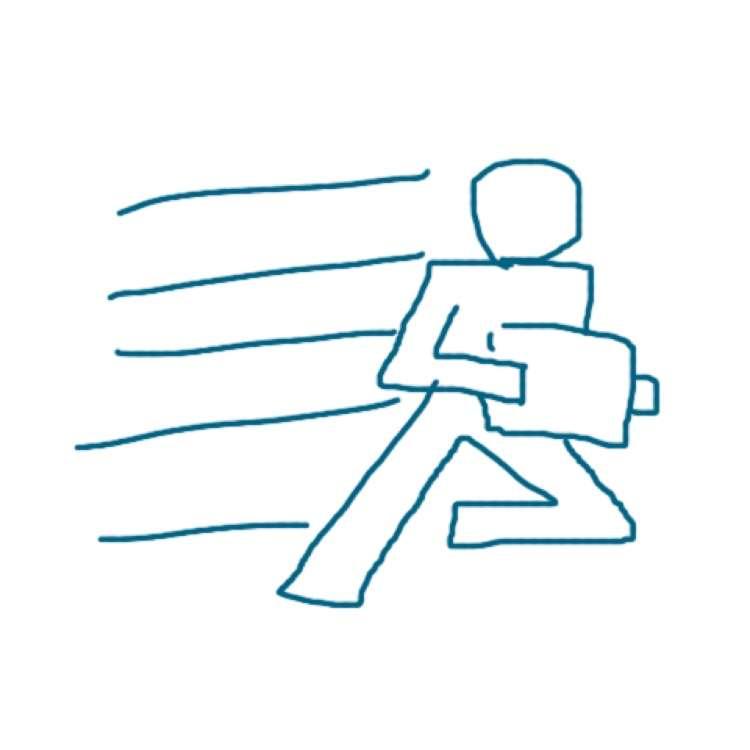 ロゴマークを記憶だけで描くトピ