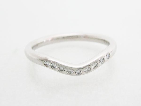 結婚指輪がティファニーの方