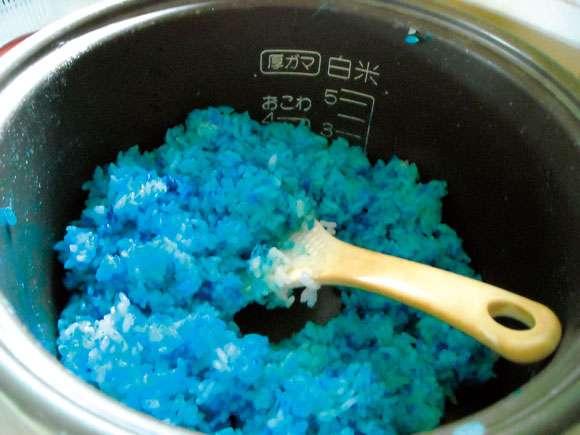 青色ダイエットのための青色画像