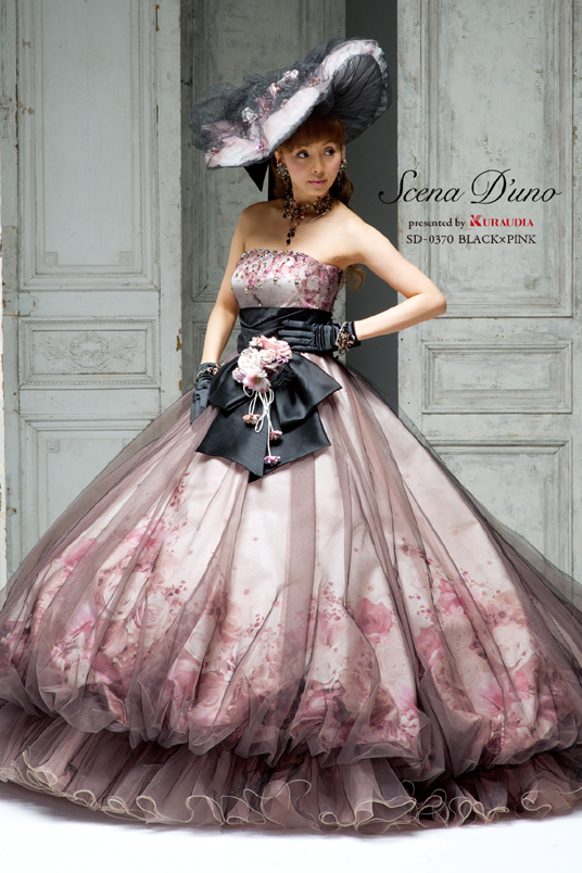 着てみたいカラードレス