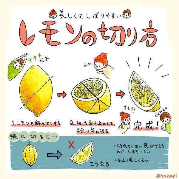余ったレモン