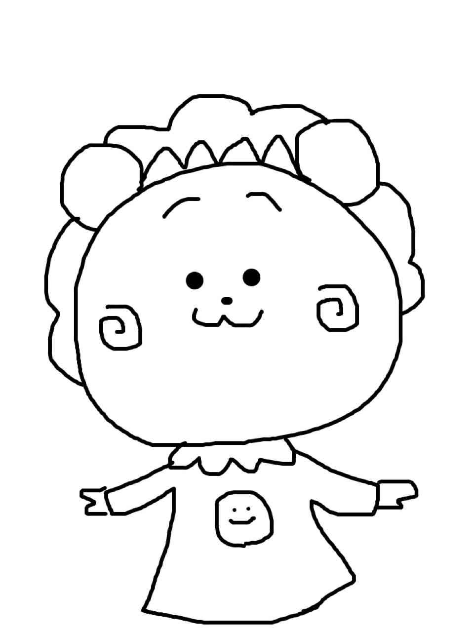 描いた絵に塗り絵してもらうトピ☆part4