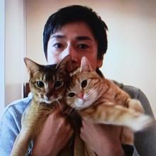 イケメンと動物の画像を貼って癒されるトピ