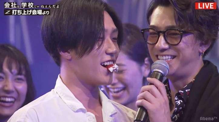 三浦翔平と早乙女太一が生放送でキス!「イケメンずラブ」と視聴者大興奮
