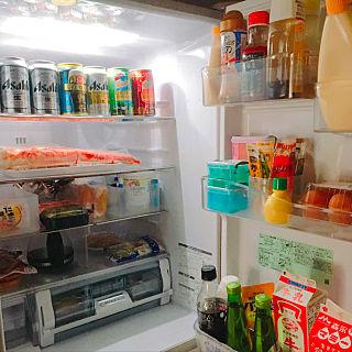 冷蔵庫の中。