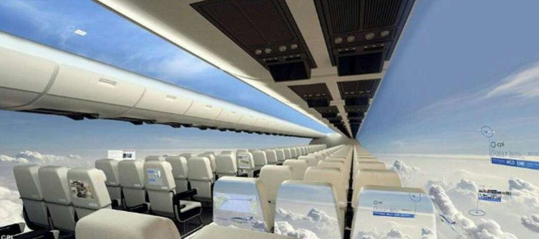 エミレーツ航空、将来は窓なし機も バーチャル窓を導入