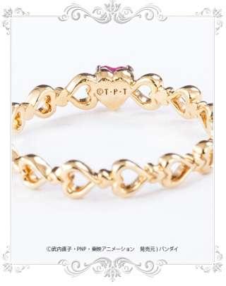 【16万円】美少女戦士セーラームーンの「まもちゃんの婚約指輪」が本格アクセに