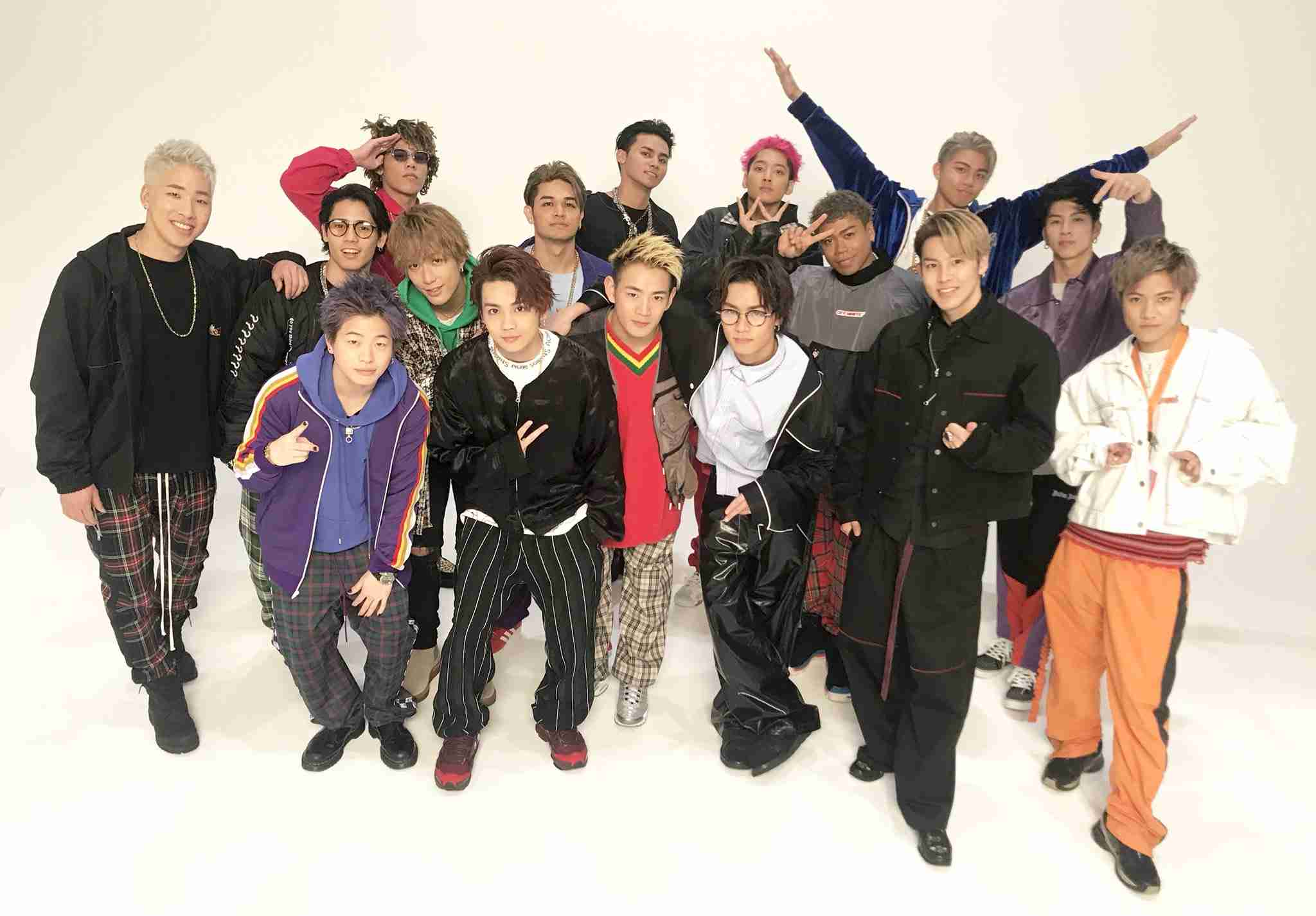 EXILE TRIBEが好きな人!