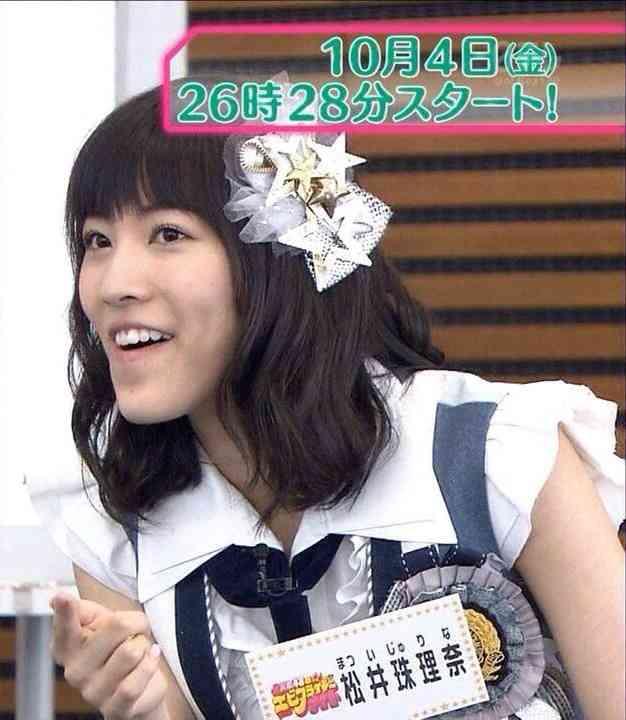 SKE48松井珠理奈、年齢詐称疑惑に言及