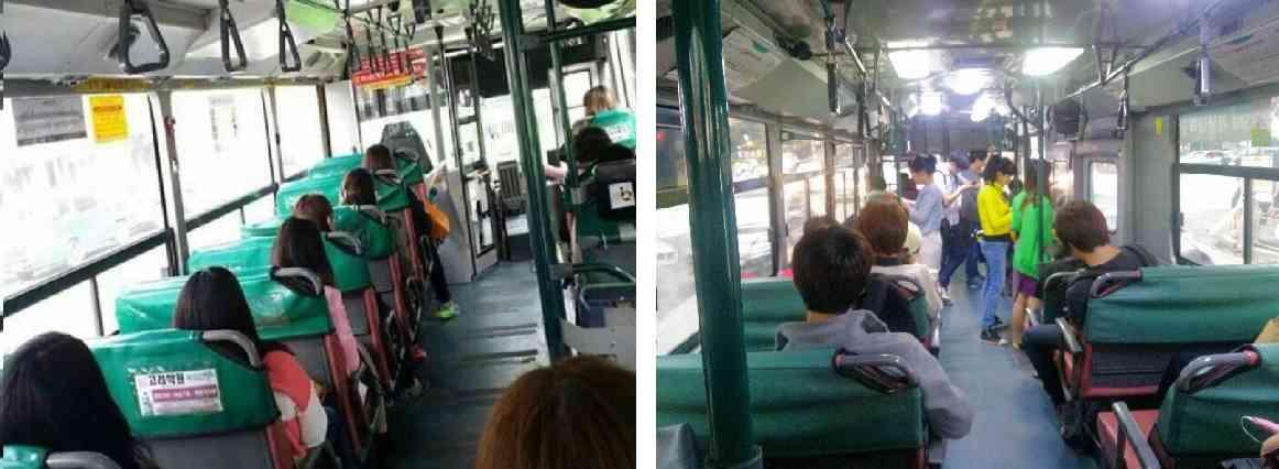 路線バスのシートに画びょう「近くに座ってほしくなかった」