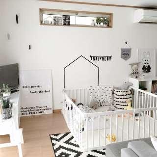 乳幼児のための部屋作り
