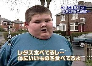 子どもの肥満について
