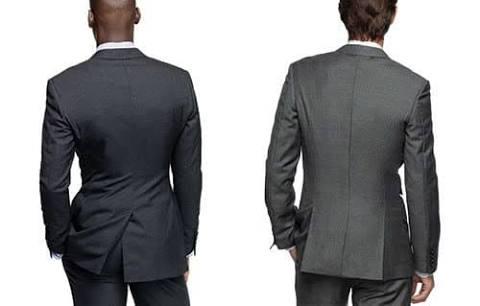 男性のかっこいい背中を貼るトピ