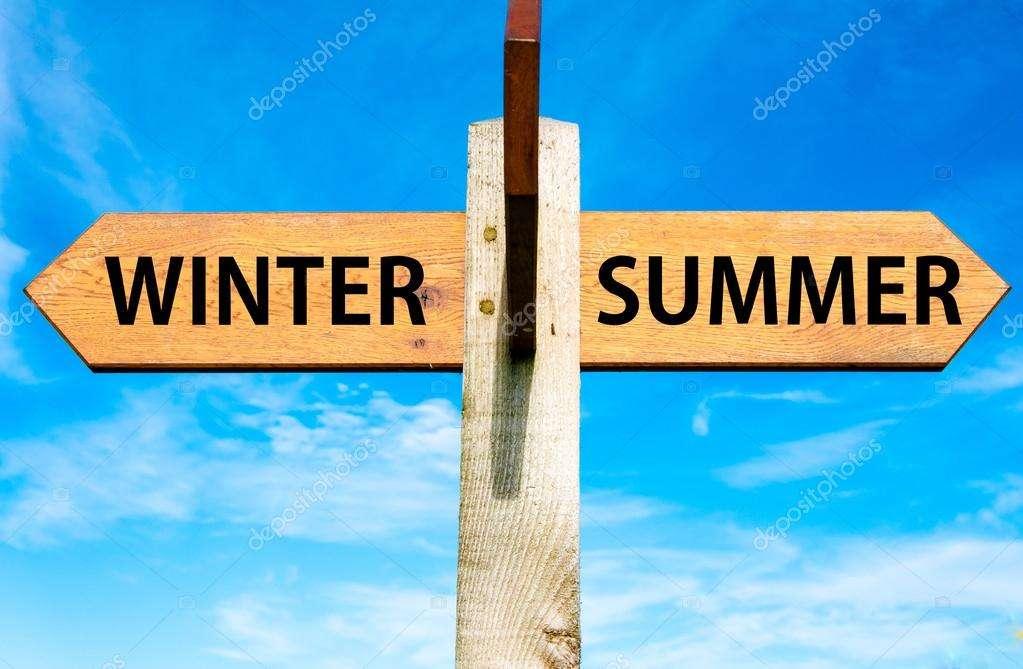 夏と冬、どちらが苦手ですか?
