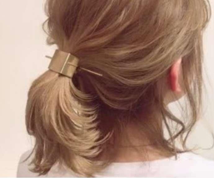 最近買ったヘアアクセ!