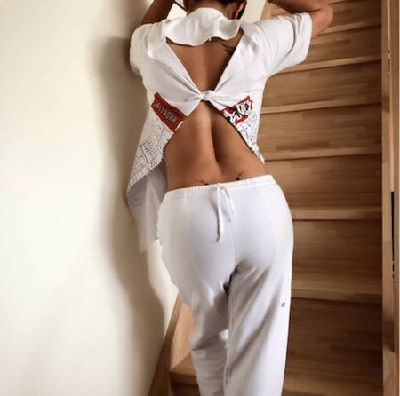 西山茉希、鍛え抜かれた背中の筋肉美を披露「かっこよすぎる」「男前な背中」と反響