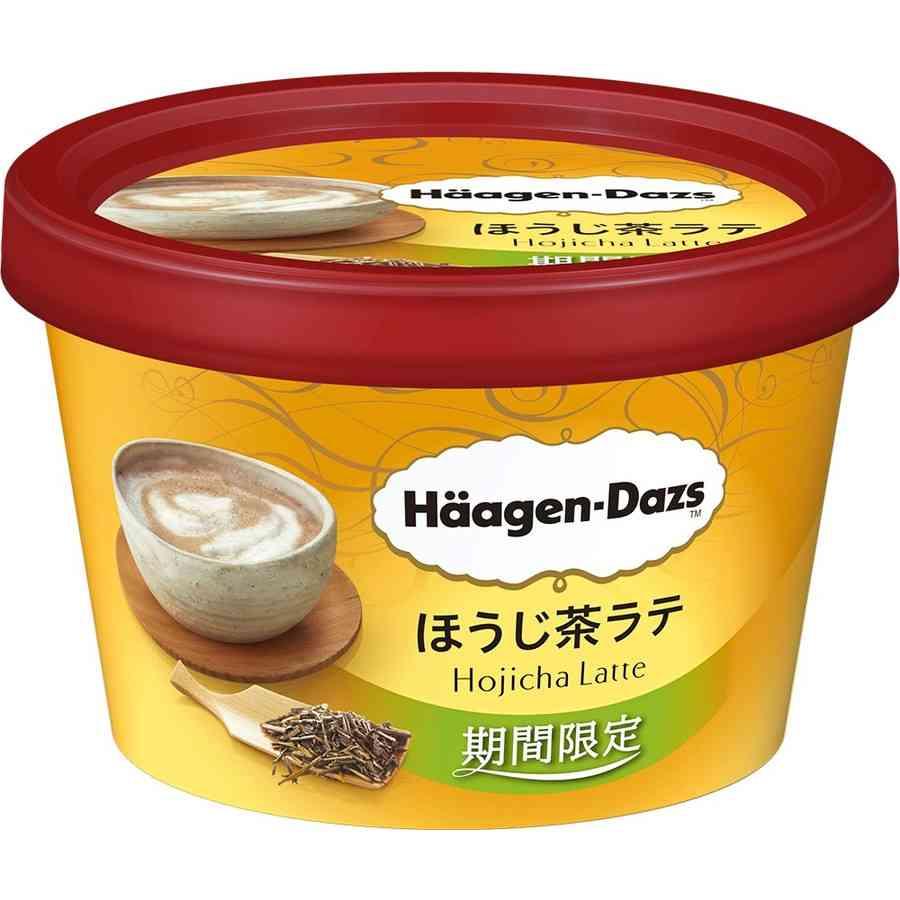 ハーゲンダッツ新作サンド、ほうじ茶×黒糖の黄金コンビ!