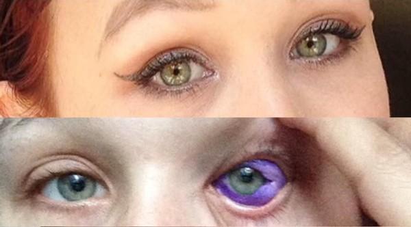 【超閲覧注意】全身に50箇所のタトゥを入れたタトゥ依存症の女性 白目までタトゥで青くしてしまう
