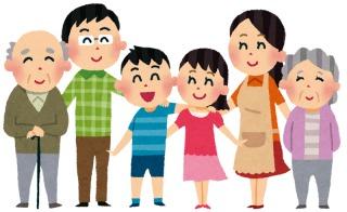 実家の両親と同居or二世帯で住んでいて、子育て中の方