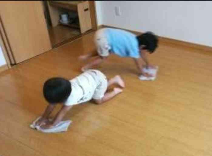 床拭き掃除について