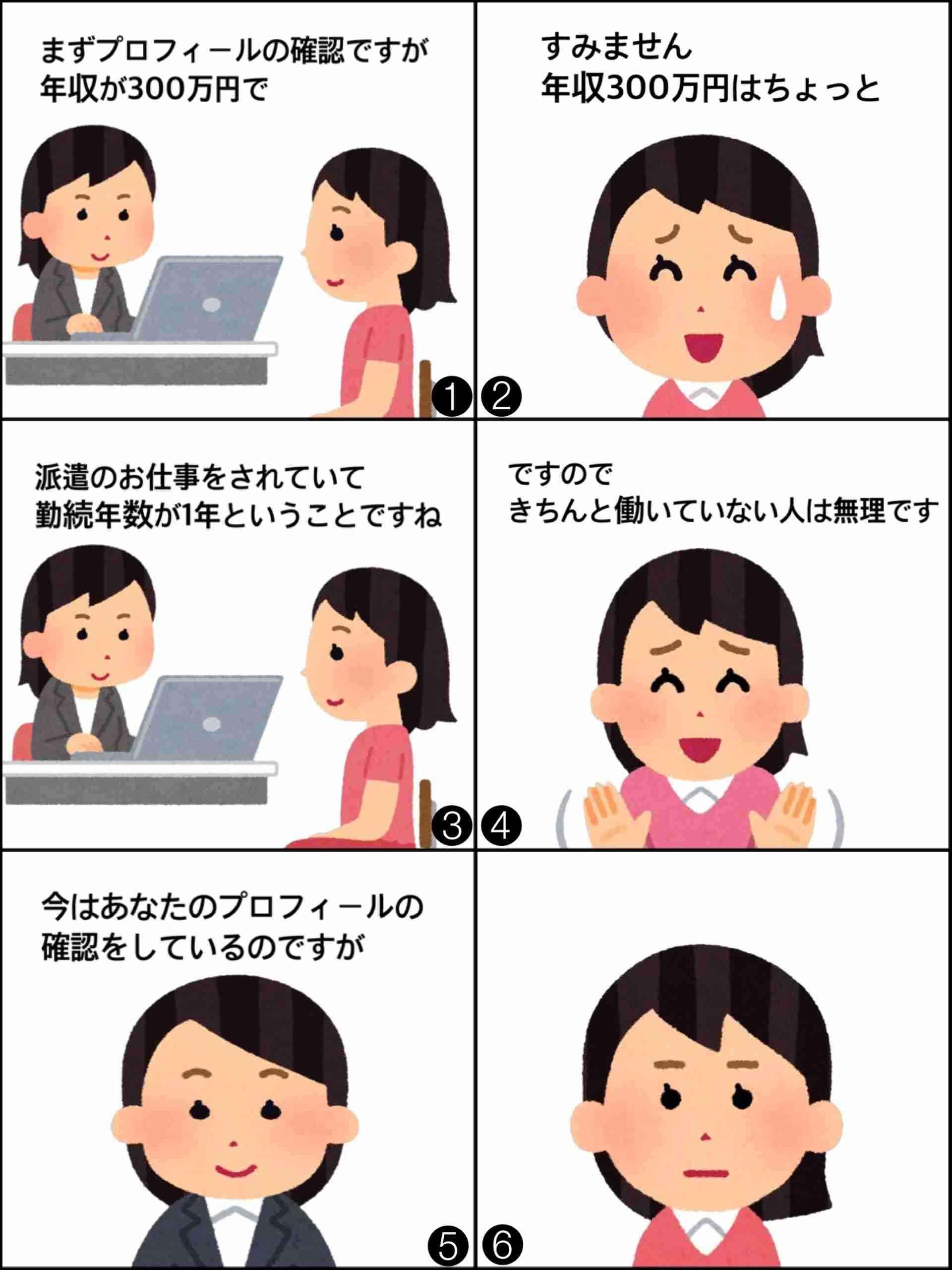 【雑談】非正規の人